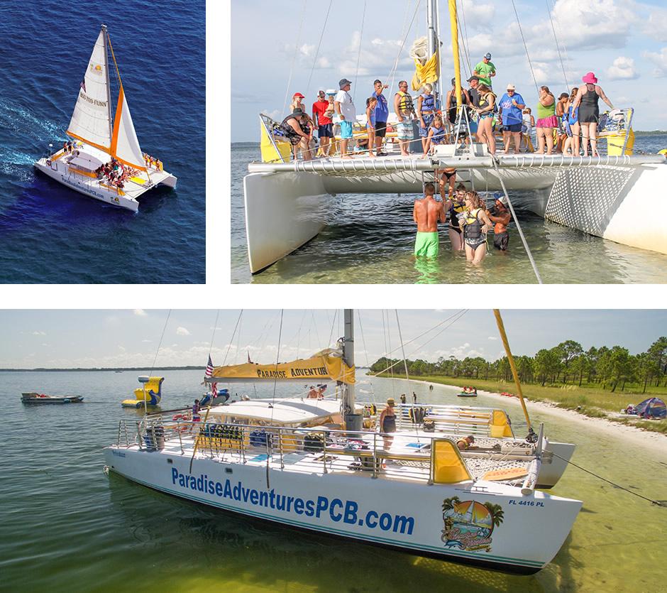Jaynes Maritime builder day sail catamarans